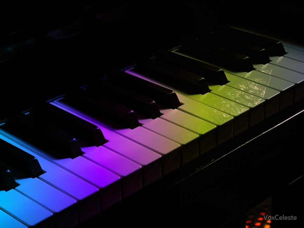 Tone Colours - Rainbow Keyboard by VoxCeleste