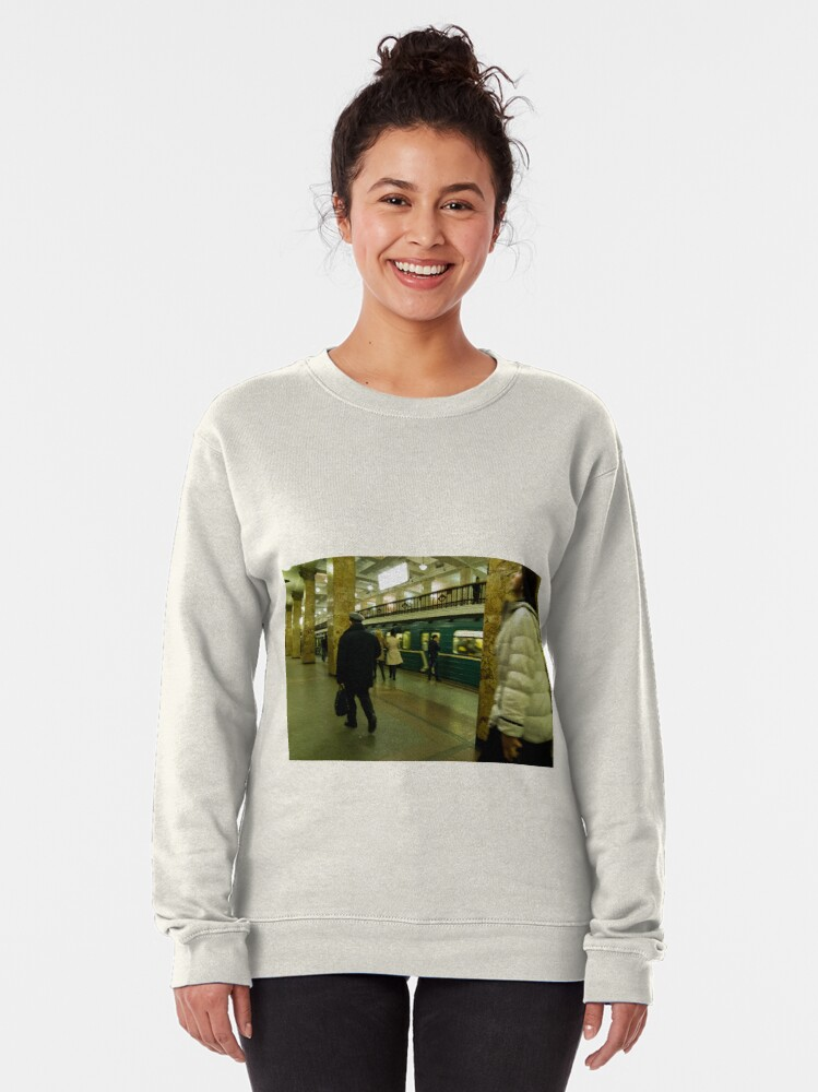 Alternate view of Moscow Subway Pullover Sweatshirt