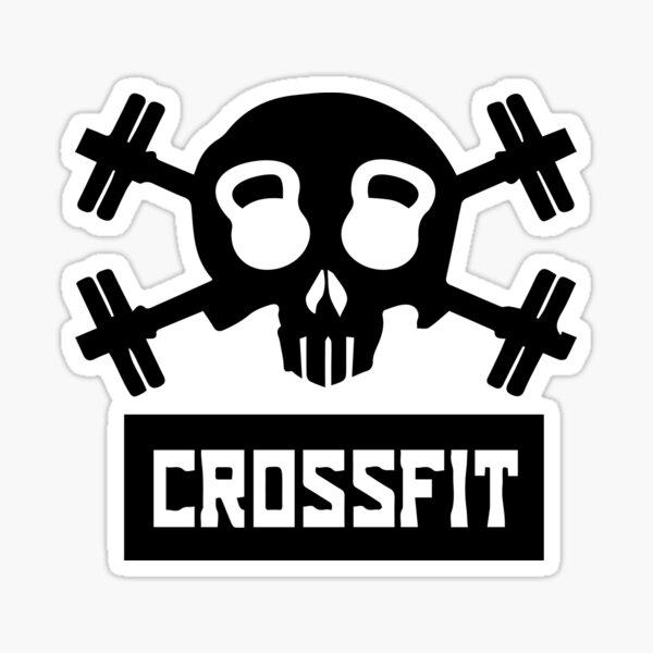Camiseta Crossfit Pegatina
