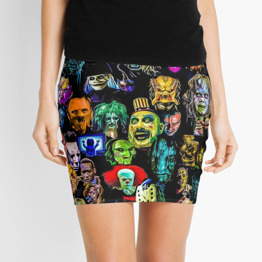 horror collection  Mini Skirt