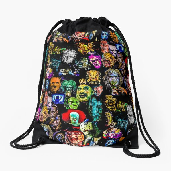 horror collection  Drawstring Bag