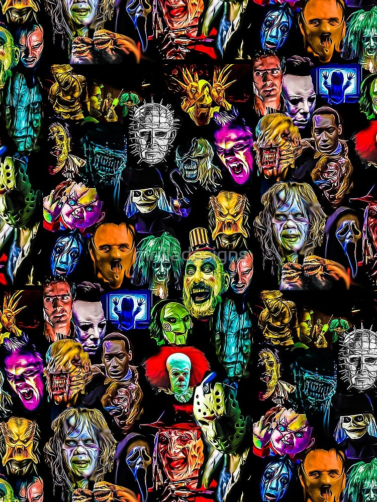 horror collection  by mrilladesigns