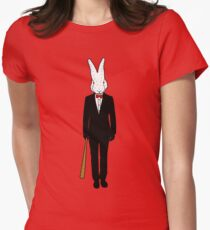 Down The Rabbit Hole Women's Fitted T-Shirt