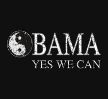 Yin Yang Obama Yes We Can!