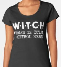 Witch Women's Premium T-Shirt