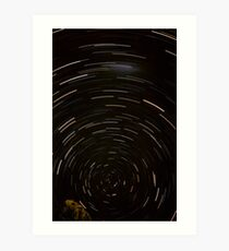 Stars Around South Celestial Pole Art Print
