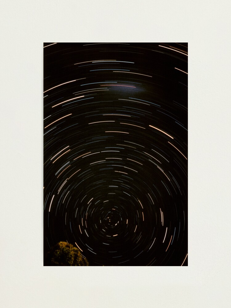 Alternate view of Stars Around South Celestial Pole Photographic Print