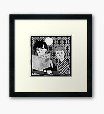 Breakfast in 221B Framed Print