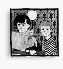 Breakfast in 221B Canvas Print