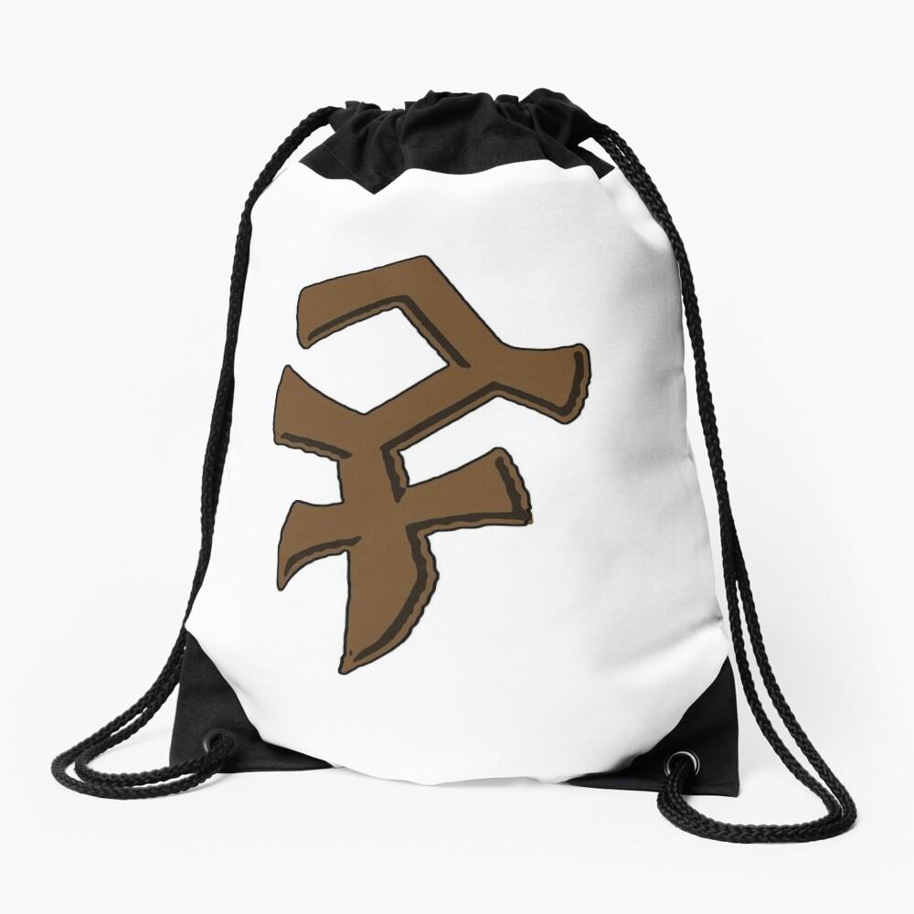 Bandos Symbol - Color, no words Drawstring Bag