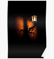 Lantern, its light and shadow Poster