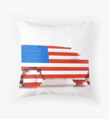 American SUV Throw Pillow