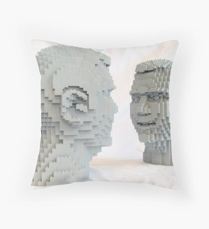 The accomplished man Throw Pillow