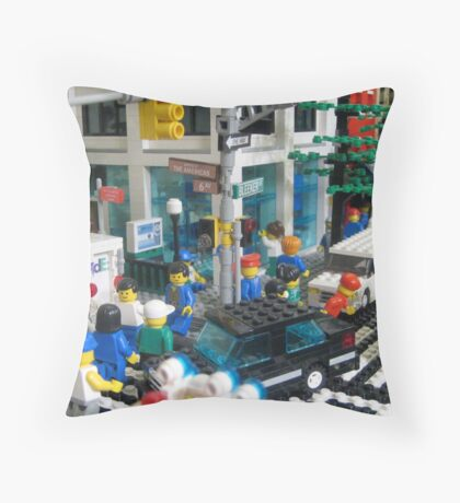 Greenwich Village Throw Pillow