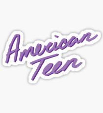 AMERIKANISCHES JUGENDLICHES PURPUR Sticker