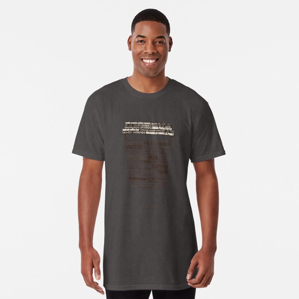 Dallas Coffee Shops Long T-Shirt