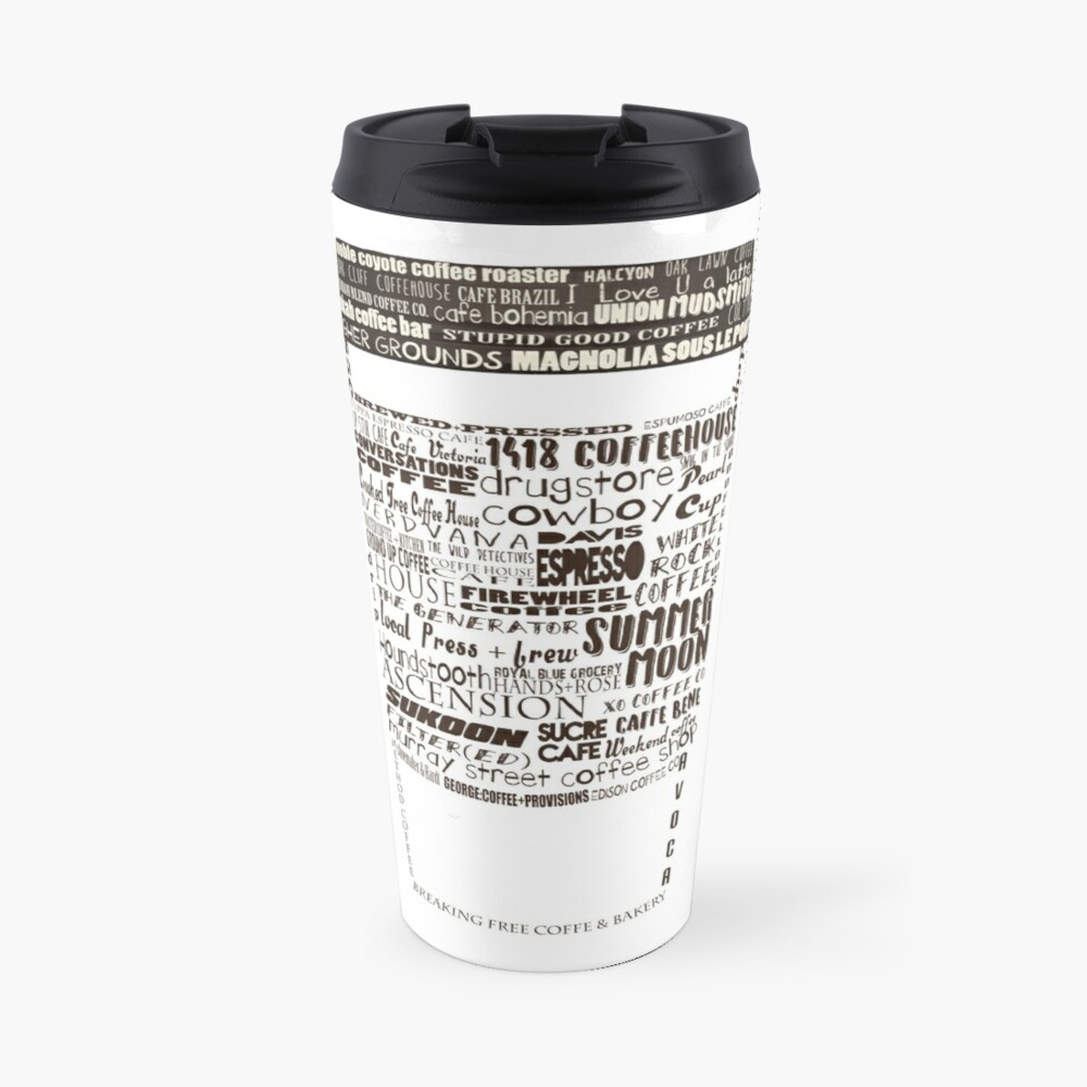 Dallas Coffee Shops Travel Mug
