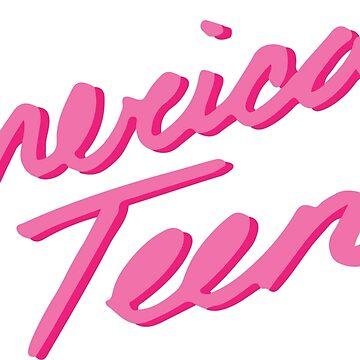 AMERICAN TEEN PINK by annacush