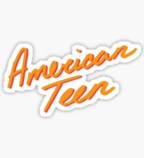 AMERIKANISCHER JUGEND ORANGE Sticker