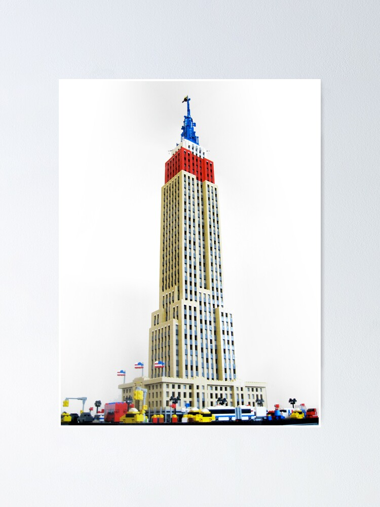 Alternate view of Empire State Building Poster