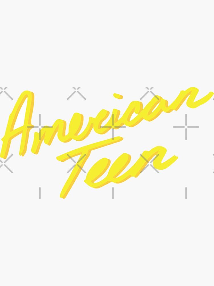AMERICAN TEEN YELLOW de annacush