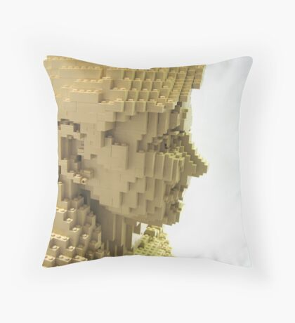 Female figure Throw Pillow