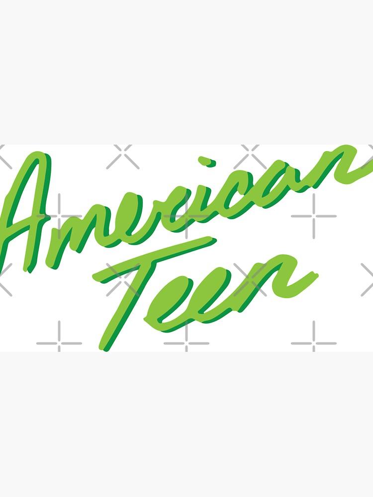 AMERICAN TEEN GREEN by annacush