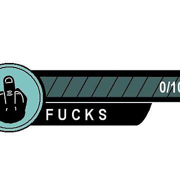 No Fucks to Give Achievement  by NicholiCosplay