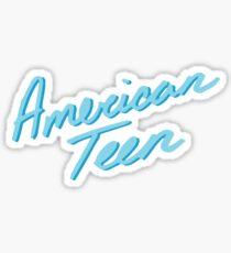AMERICAN TEEN LIGHT BLUE Sticker
