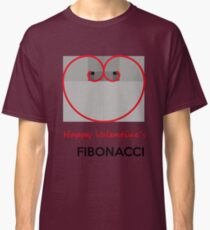 Happy Valentine´s Fibonacci Classic T-Shirt