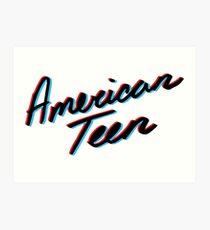 KHALID AMERICAN TEEN 3D Art Print