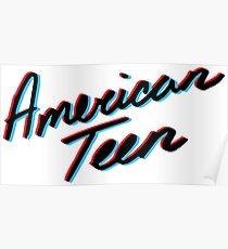KHALID AMERICAN TEEN 3D Poster