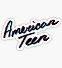 KHALID AMERICAN TEEN 3D Sticker