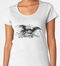 vintage eagle Women's Premium T-Shirt