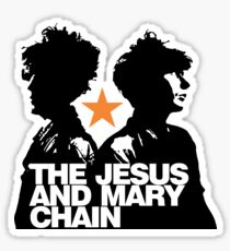 Jesus And Mary Chain Love Sticker