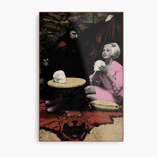 Anton LaVey & Jayne Mansfield Metal Print