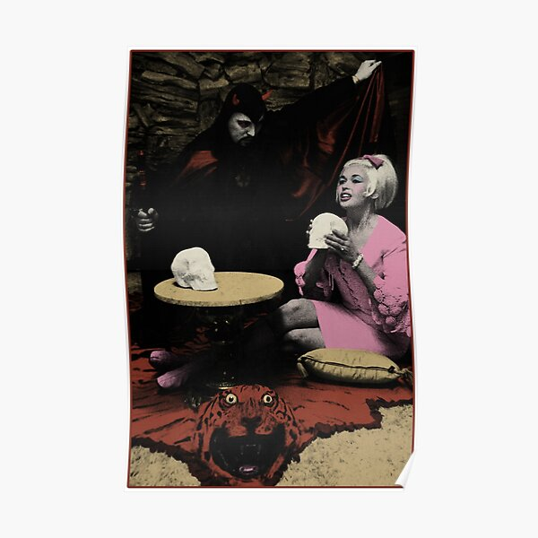 Anton LaVey & Jayne Mansfield Poster