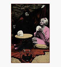 Anton LaVey und Jayne Mansfield Fotodruck