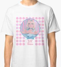 je vois la vie en rose bonbon Classic T-Shirt