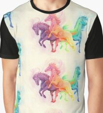 A Horse of a Different Color Graphic T-Shirt