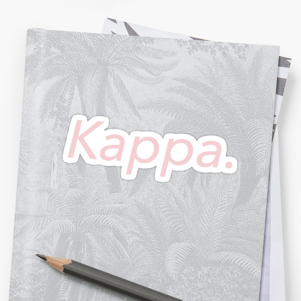 Kappa. by millenialthink