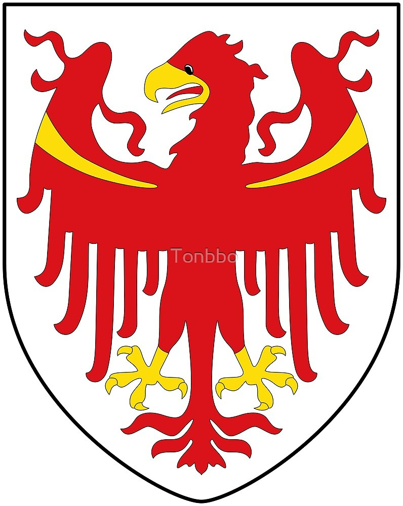 South Tyrol Coat of Arms, Italy by Tonbbo
