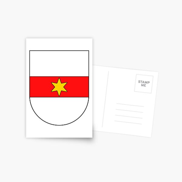 Bolzano Coat of Arms, Italy Postcard