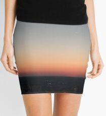 'Sunset Skies' Mini Skirt