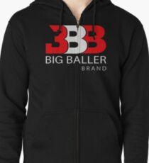Big baller brand Zipped Hoodie