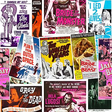 Ed Wood Posters by MondoDellamorto