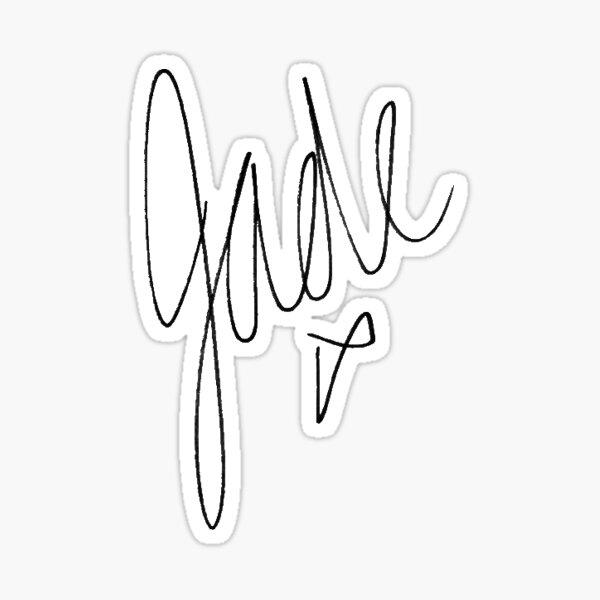 Little Mix - Jade Signature Sticker