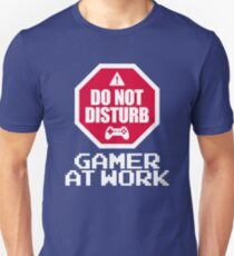 Gamer At Work T-Shirt