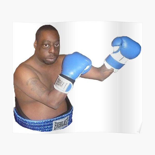 Beetlejuice/Lester Green Boxing Poster