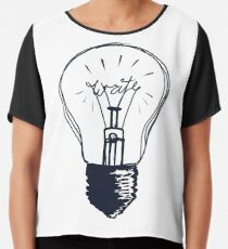 The Write Light Chiffon Top